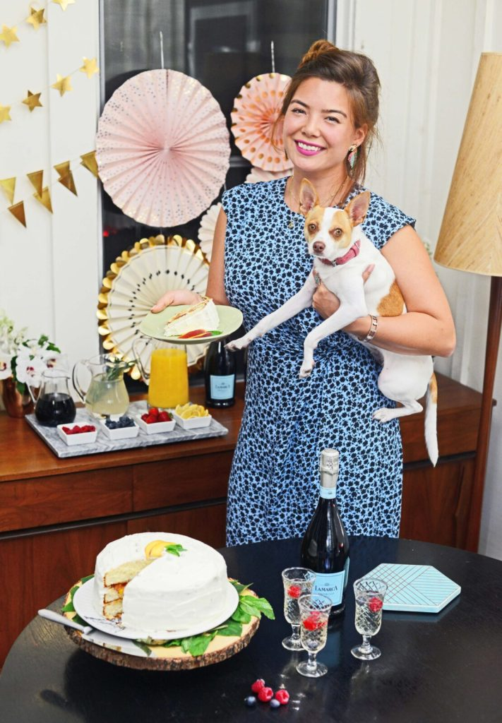 Gracie Carroll - Peaches & Prosecco Cake Recipe - La Marca Prosecco