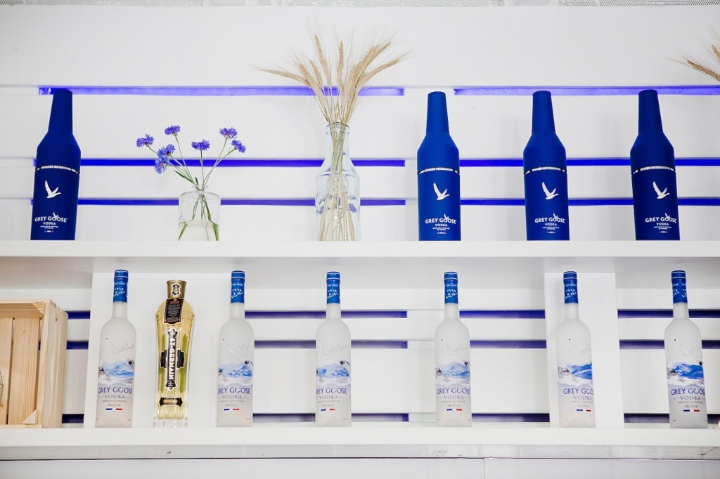 grey goose mini bottle