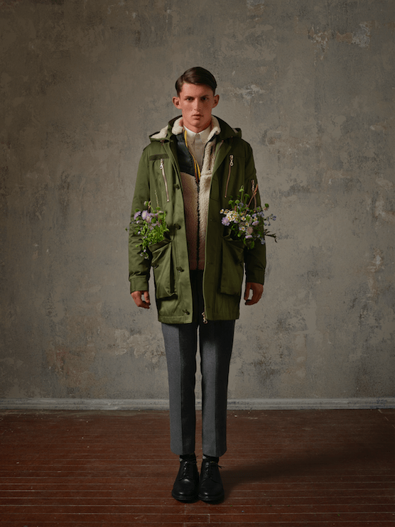 erdem x hm men's collection