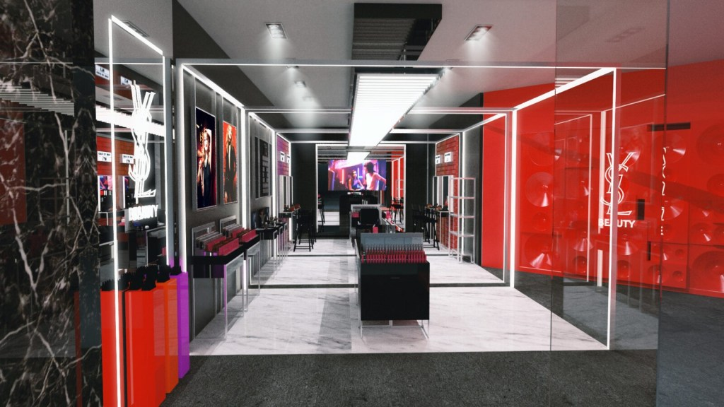 YSL Beauty Pop Up Square One 2017