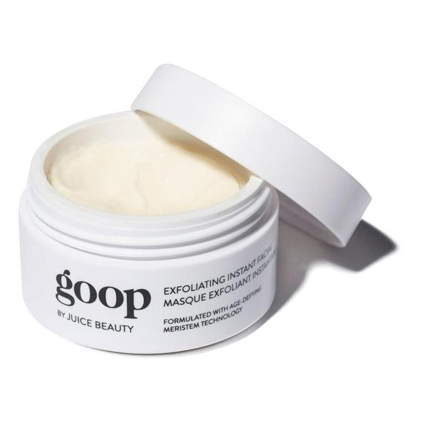 Goop Exfoliating Instant Facial Review Beauty 2018