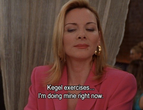 kegel exercises samantha sex and the city