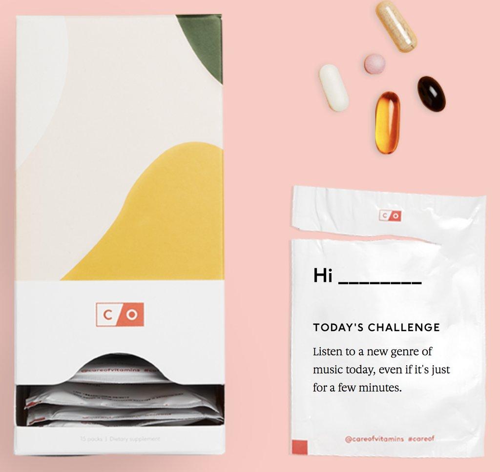 Care-of-Vitamins subscription box