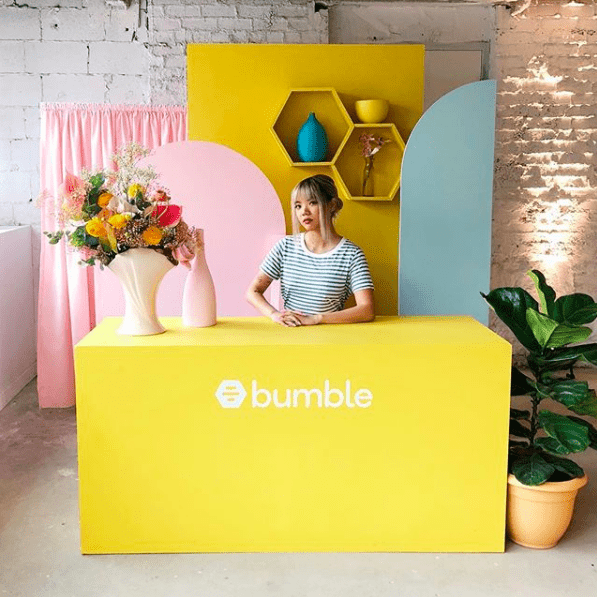 bumble hive toronto pop-up