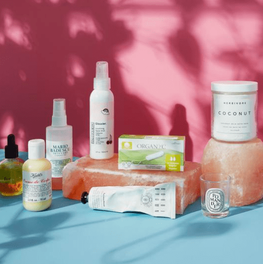 easy period natural tampons subscription box