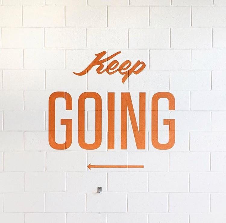 keep going motivation edit seven 2018 toronto
