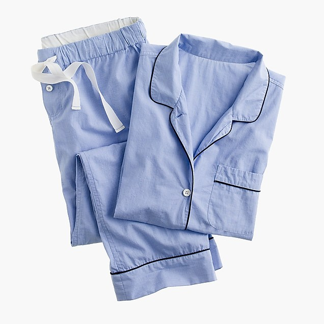 J.CREW Vintage short-sleeve pajama set edit seven 2018 toronto