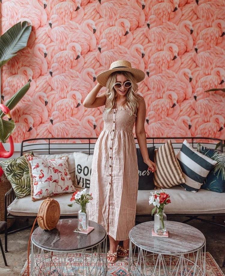 Joëlle Anello button up dress edit seven 2018