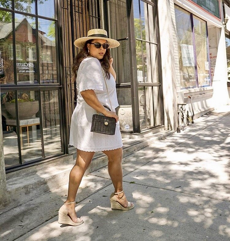 Dani Goddard straw bag edit seven 2018 stylebook