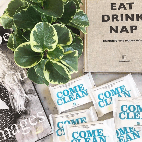 consonant skincare toronto - come clean wipes