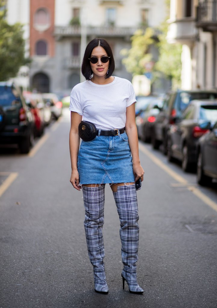 0effc3c2ace STYLEBOOK   7 Fun Denim Skirt Outfits To Inspire Your Summer Lewk