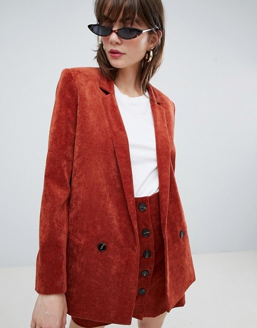 ASOS DESIGN blazer in cord edit seven toronto 2018