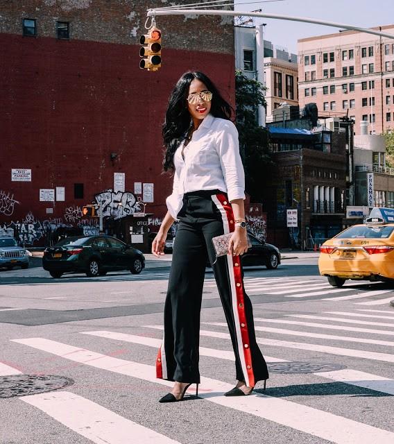 Darlingtee Tania Cascilla edit seven stylebook tear away pants streetstyle toronto 2018