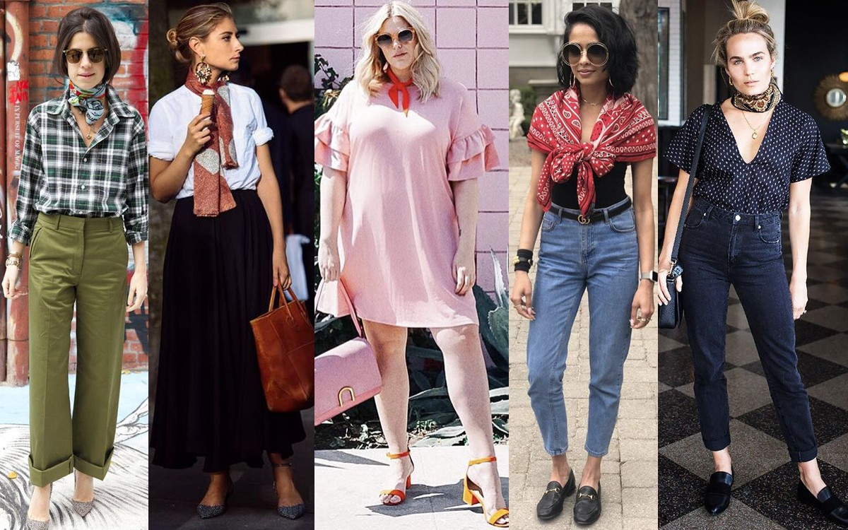 stylebook neckerchief neck scarf trend edit seven 2018