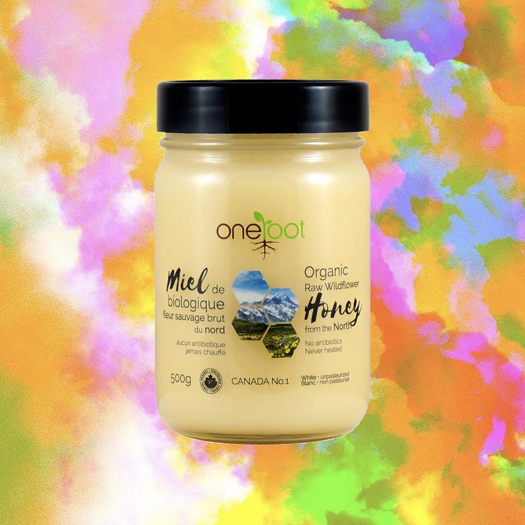 One Honey Organic Wildflower Raw Honey