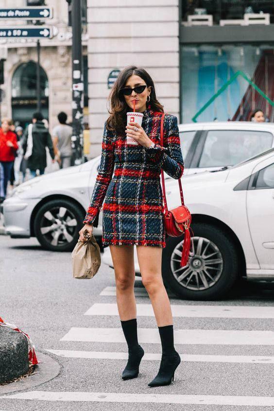 tartan dress edit seven stylebook toronto 2018