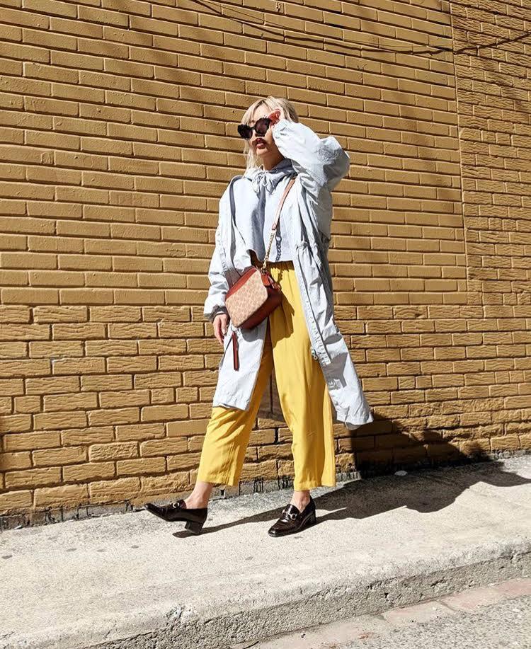 Dani Roche yellow stylebook edit seven toronto 2018