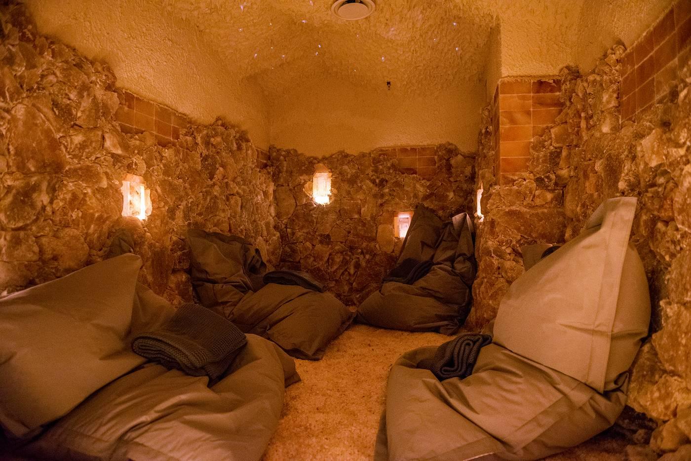 Hoame Toronto Edit Seven meditation salt cave