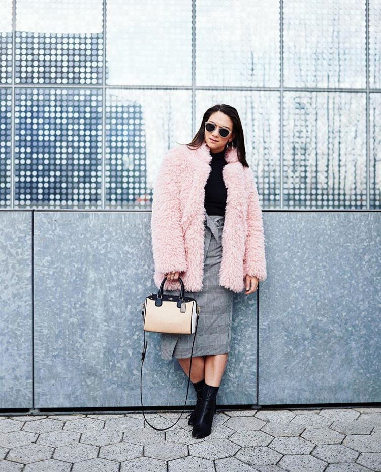 Cory Lee teddy bear coat toronto stylebook edit seven 2018