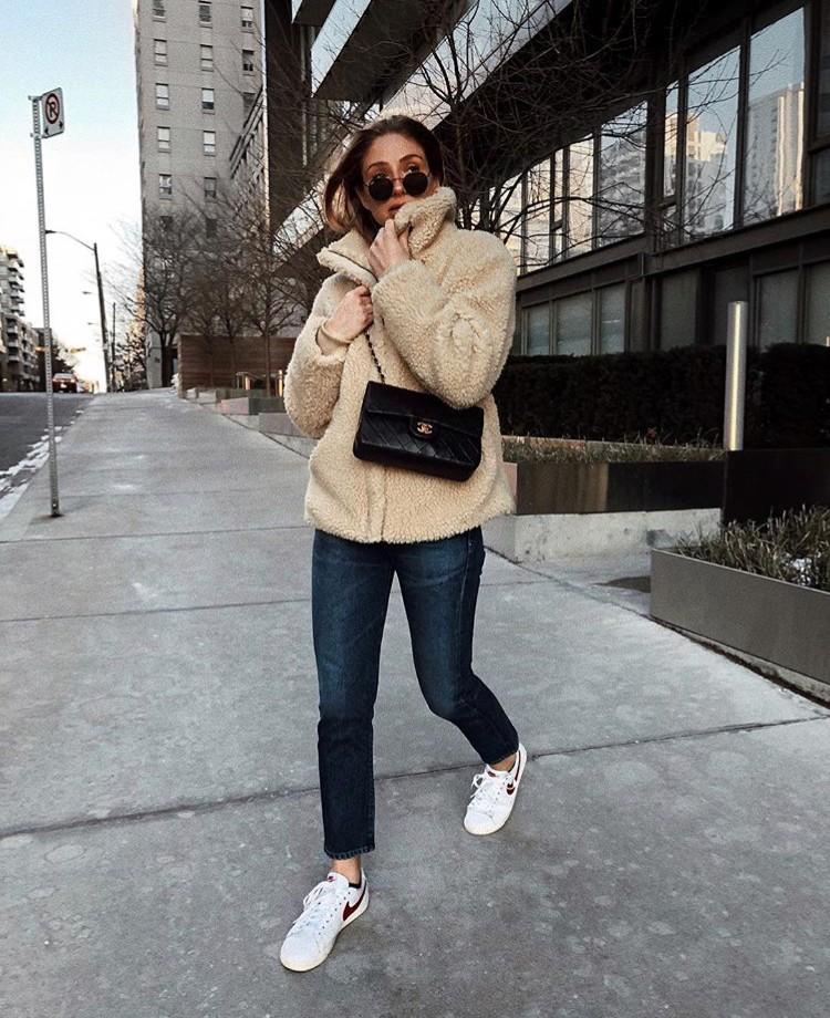 Jill Lansky August Diaries teddy bear coat toronto stylebook edit seven 2018