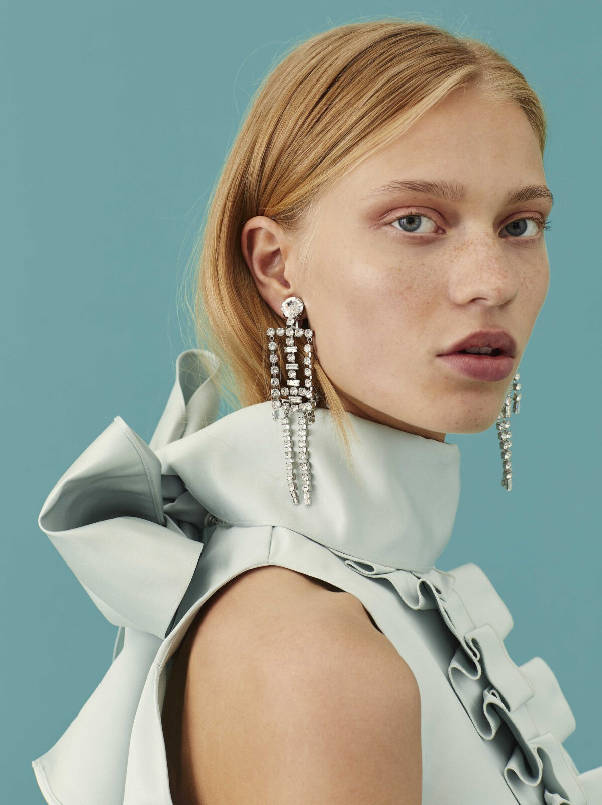 Alexa Chung Skeleton Earrings