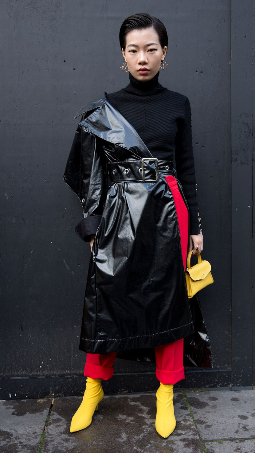 edit seven statement belt stylebook leather trench
