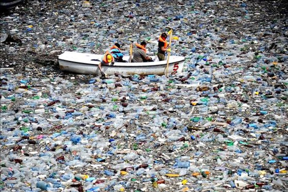 plastic bottle waste - waste reduction week canada