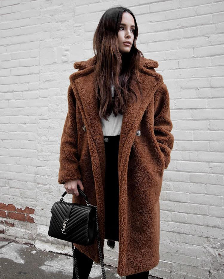 Jodi blk teddy bear coat toronto stylebook edit seven 2018