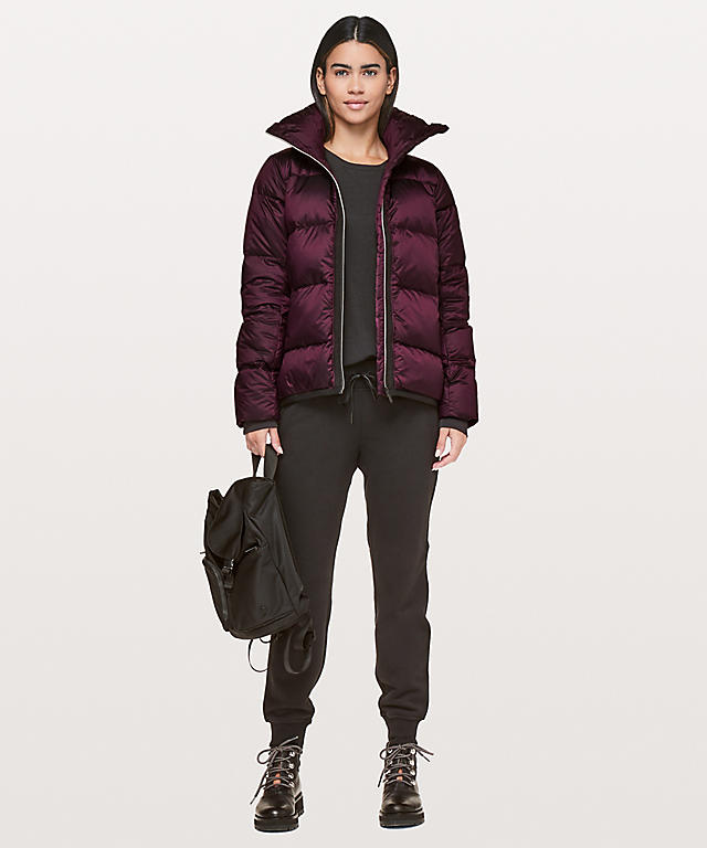 Lululemon investment winter coat edit seven