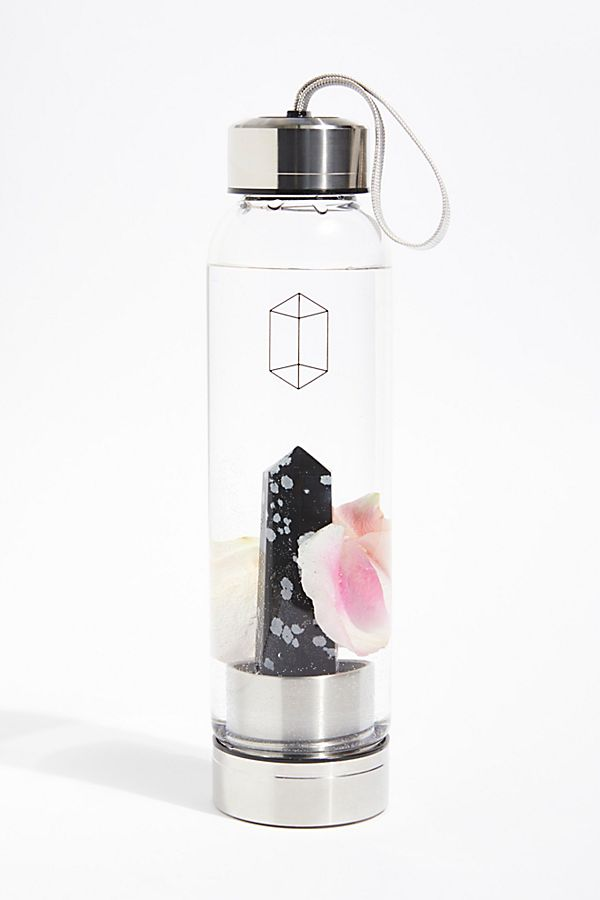 glacce crystal water bottle november star sign style edit seven