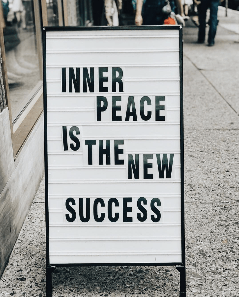 inner peace is the new success edit seven new year intentions 2019