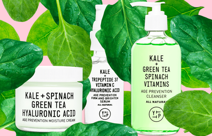 green skin care trend