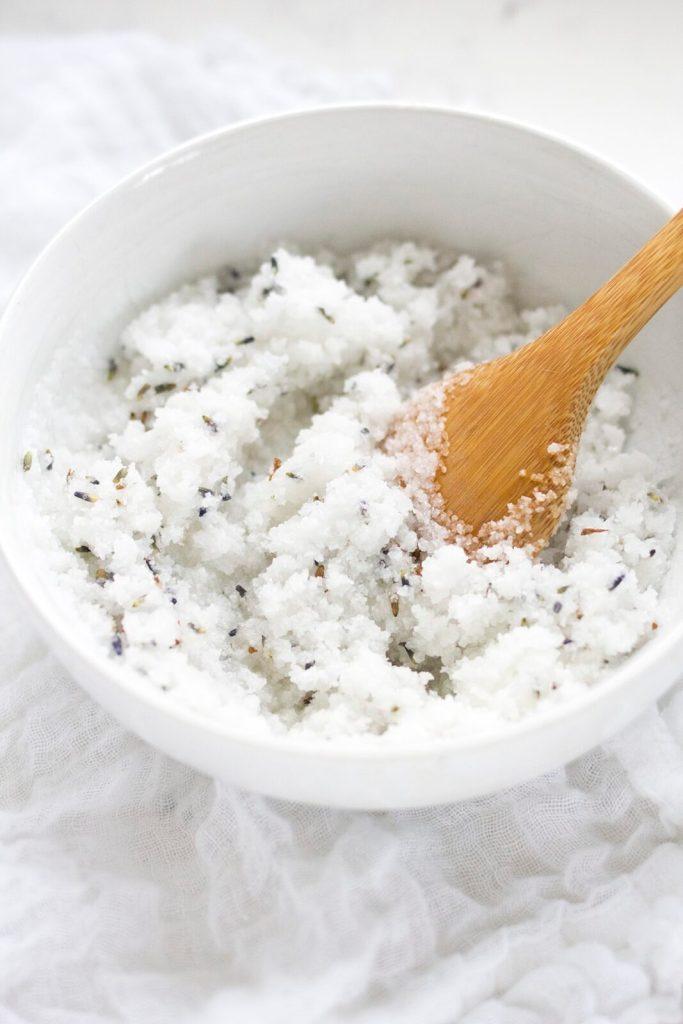 Lavender-Sea-Salt-Body-Scrub-Recipe