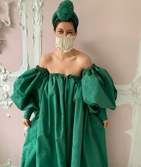 maryam keyhani face mask
