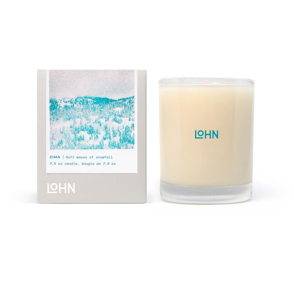 Lohn Zima candle