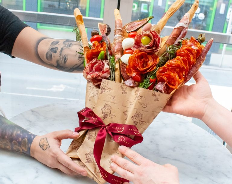 salumi bouquet from Eataly Toronto
