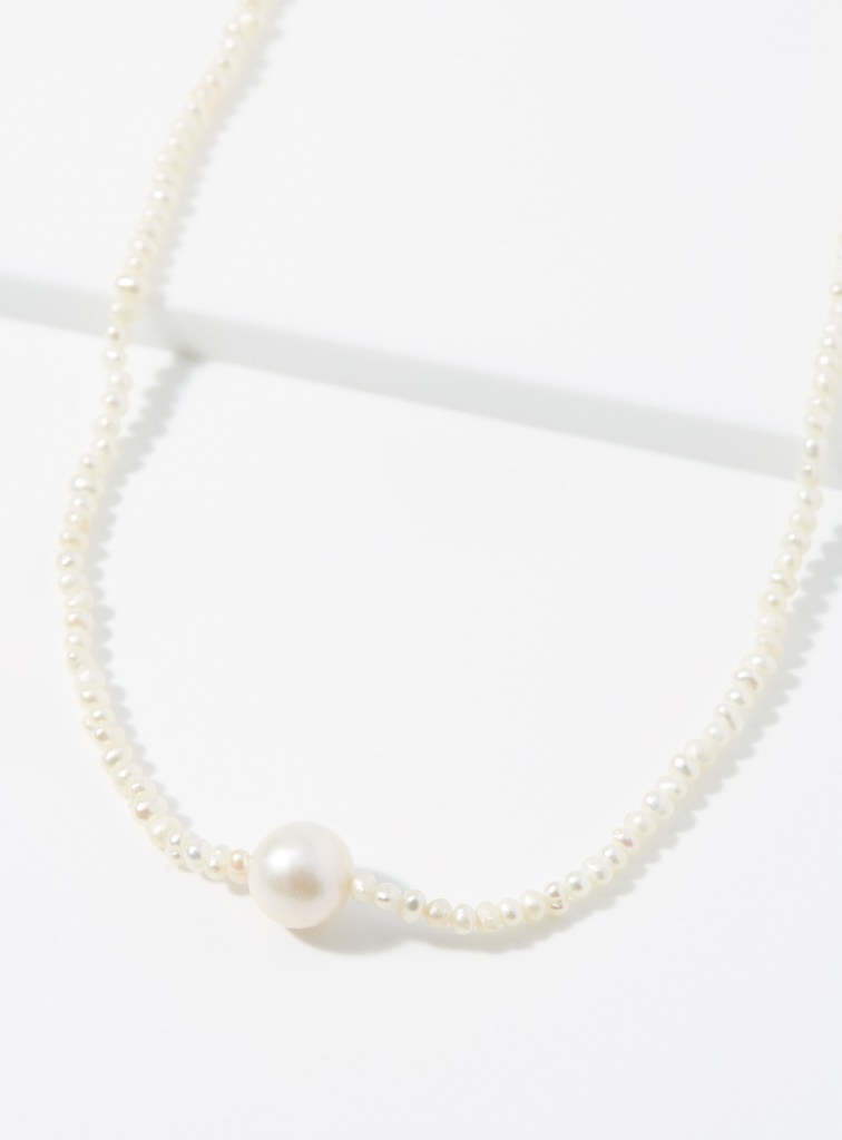 pearl necklace from Simons