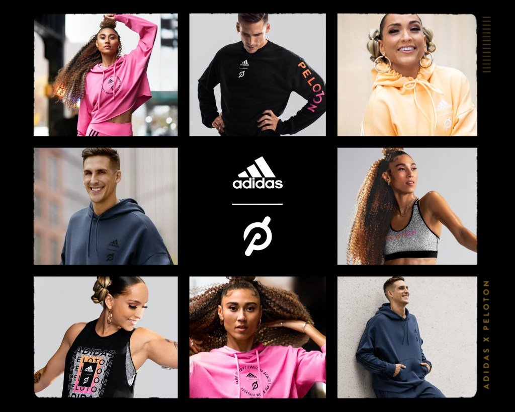 Adidas x Peloton instructors