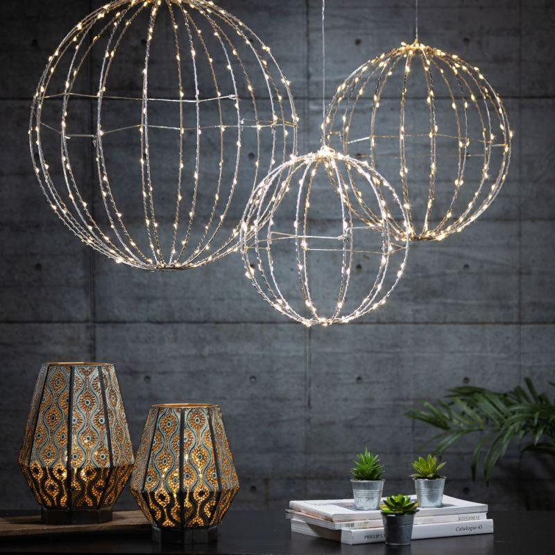 LED string lights home decor