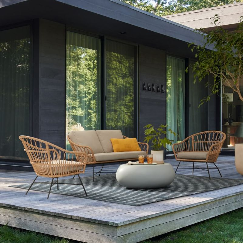 outdoor lounge set home decor