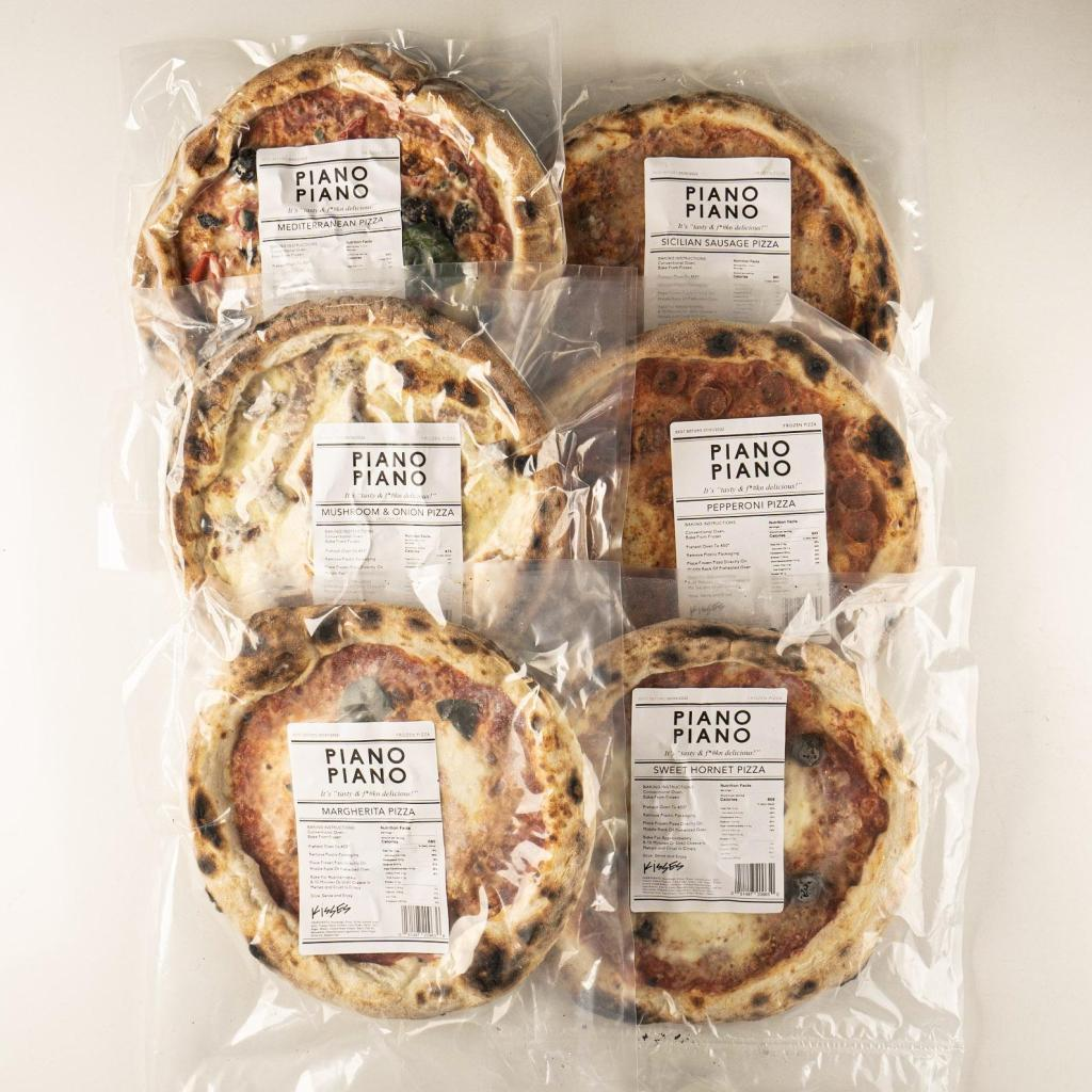 pizza meal kits from Piano Piano