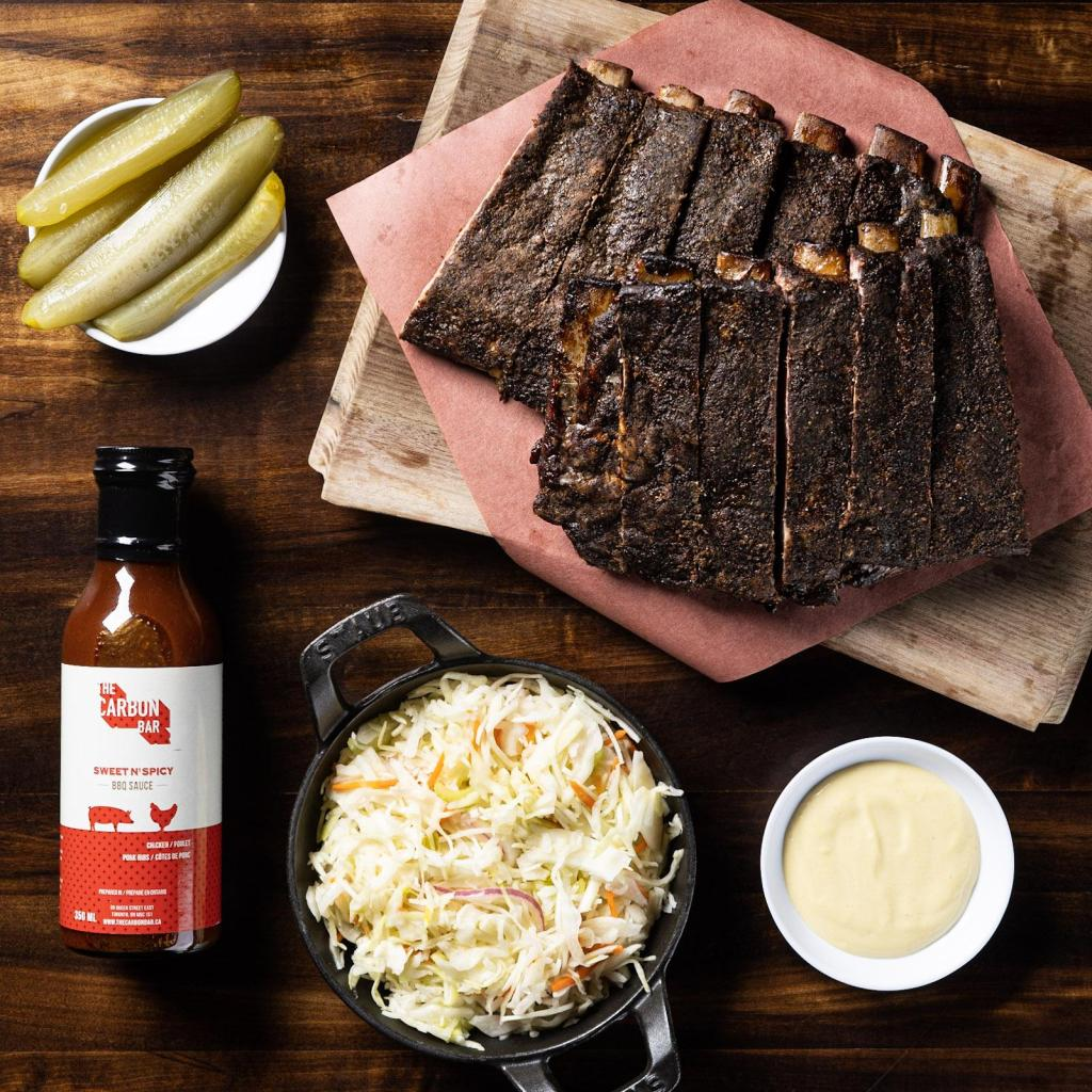 St. Louis Style Ribs meal kit from The Carbon Bar
