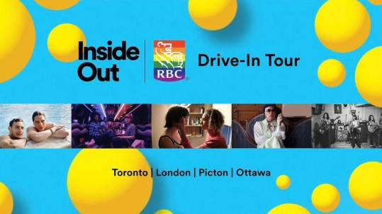 The Inside Out x RBC Drive-In Tour