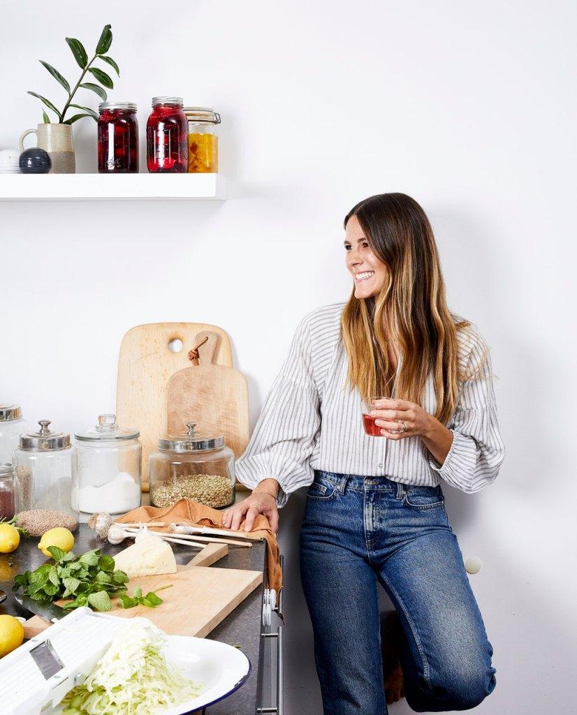 Eden Grinshpan in the kitchen