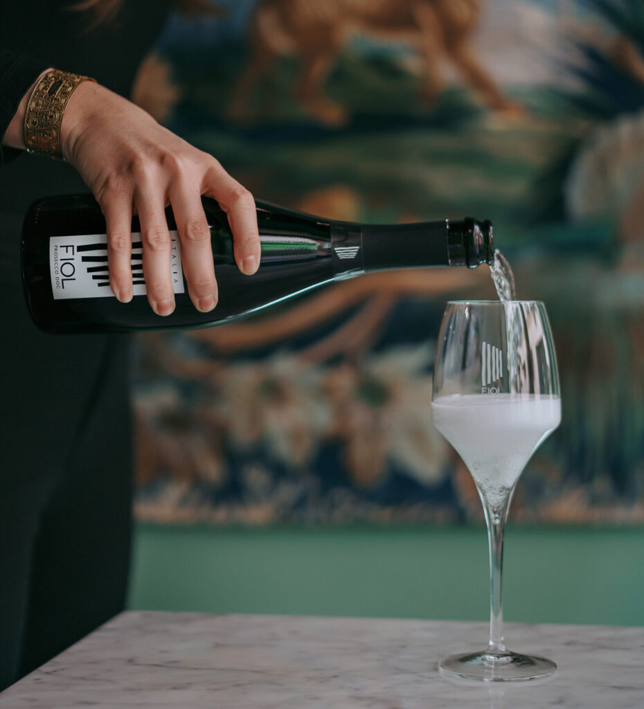FIOL Classic Prosecco for labour day weekend cocktail recipe