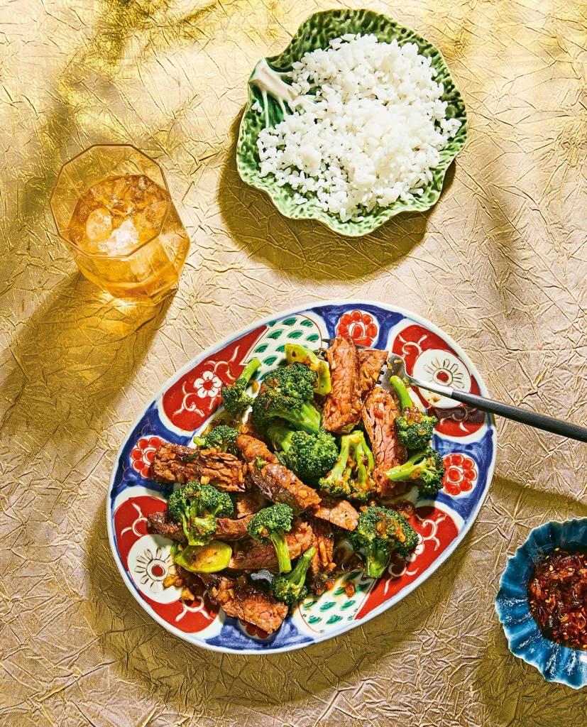 broccoli beef recipe by Pepper Teigen