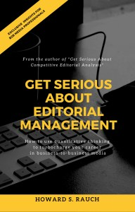 Cover shot of Get Serious About Editorial Management