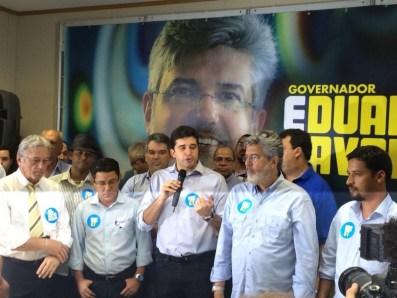 Rui Palmeira participa da convenção do PSDB