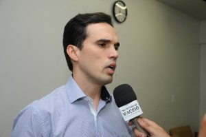 Fellipe Mamede, novo secretário de Finanças de Maceió. Foto: Secom/Maceió