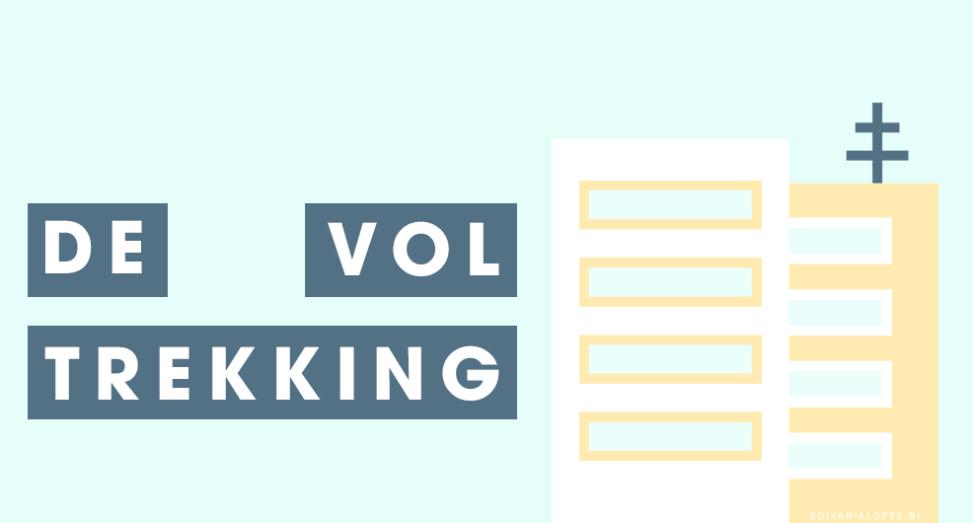 De voltrekking - Kort verhaal - EdivaniaLopes.nl